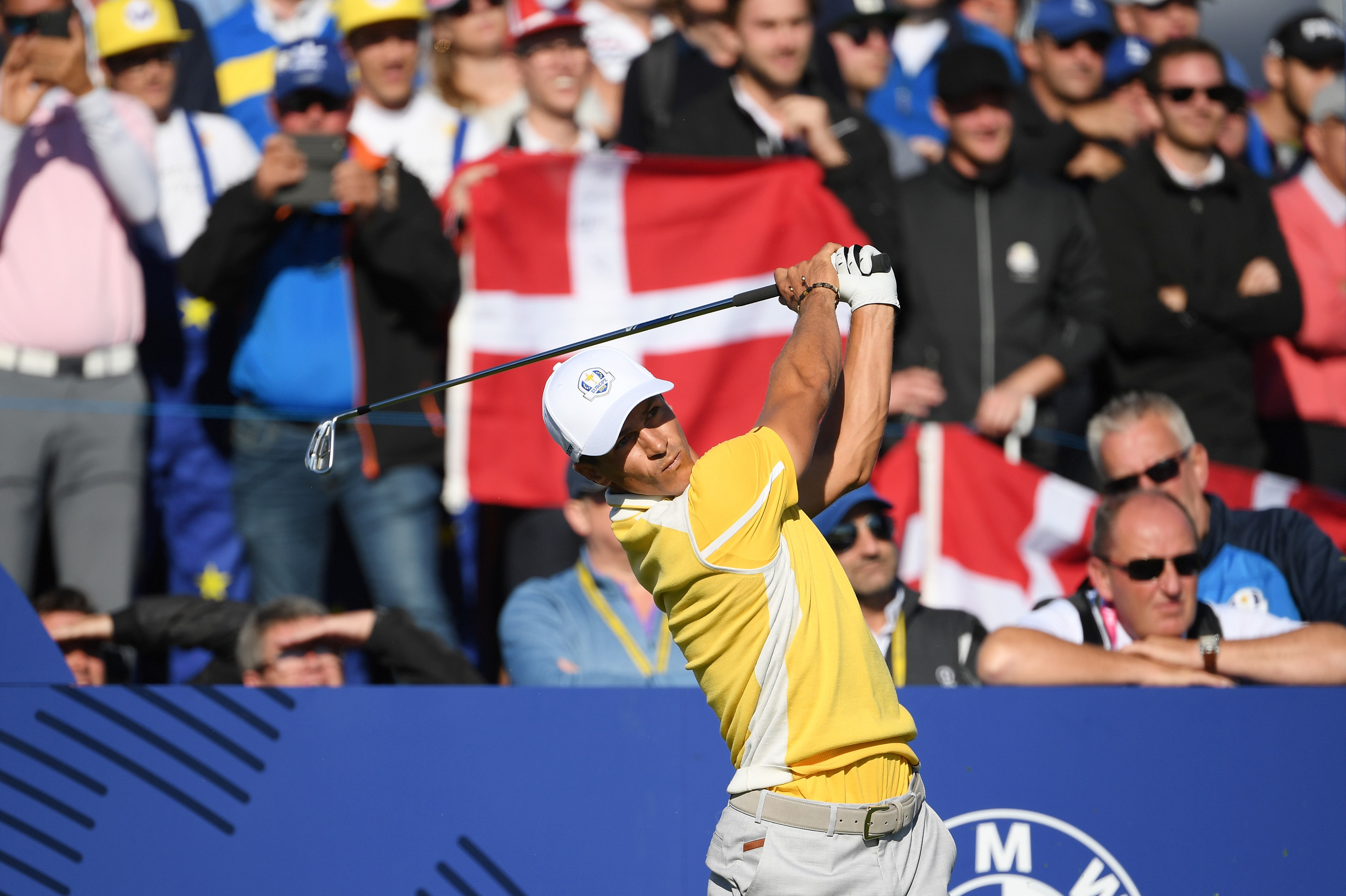 Thorbjorn Olesen is the third Dane to represent Europe in the Ryder Cup.