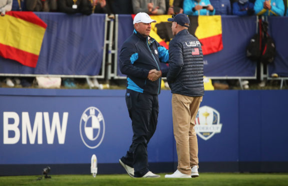 Thomas Bjorn and Jim Furyk have made their singles draw choices.