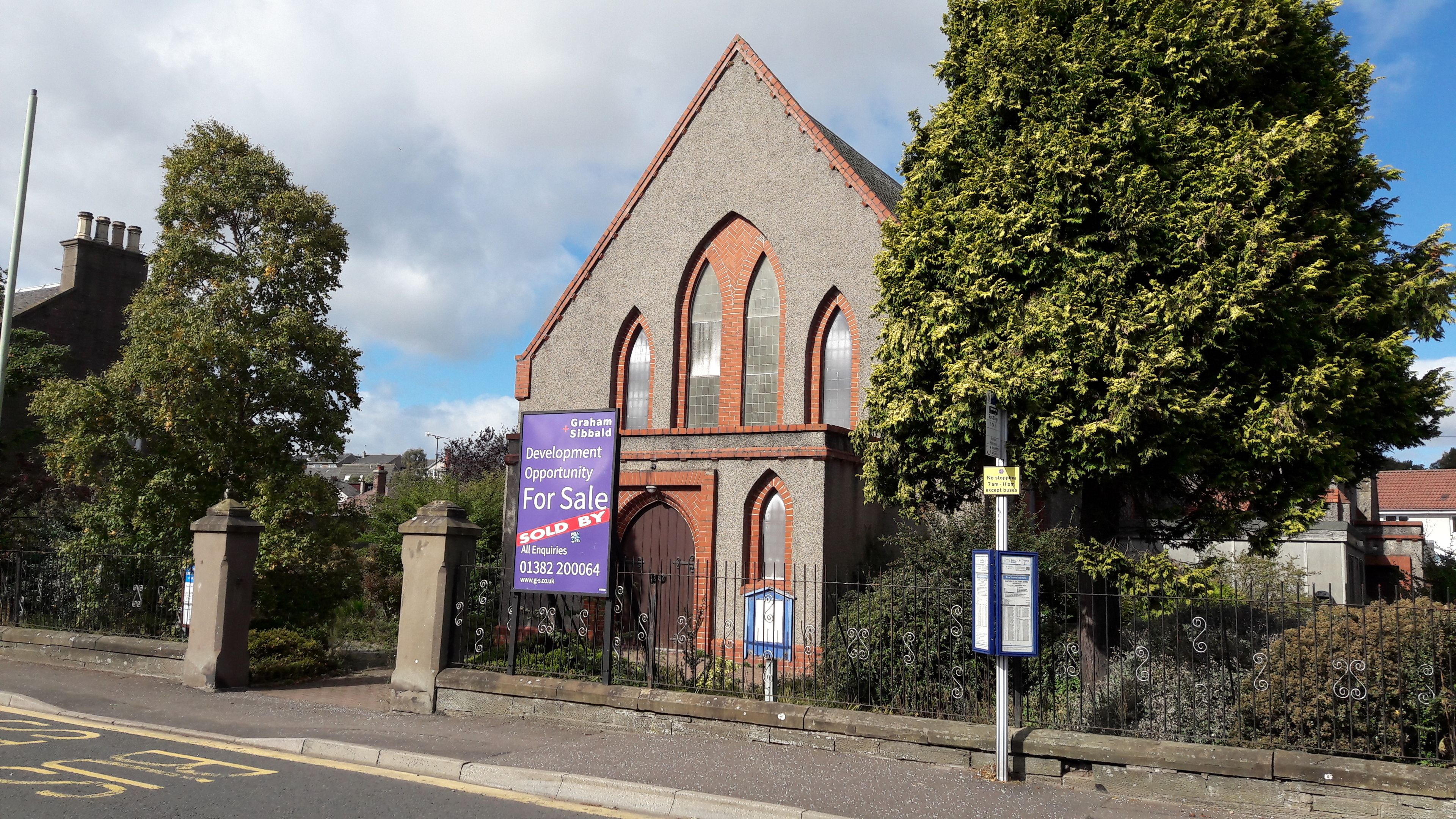 Six flats are to be built on the Panmure Church site
