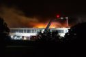 Firefighters tackle the Braeview Academy blaze nearly a year ago..