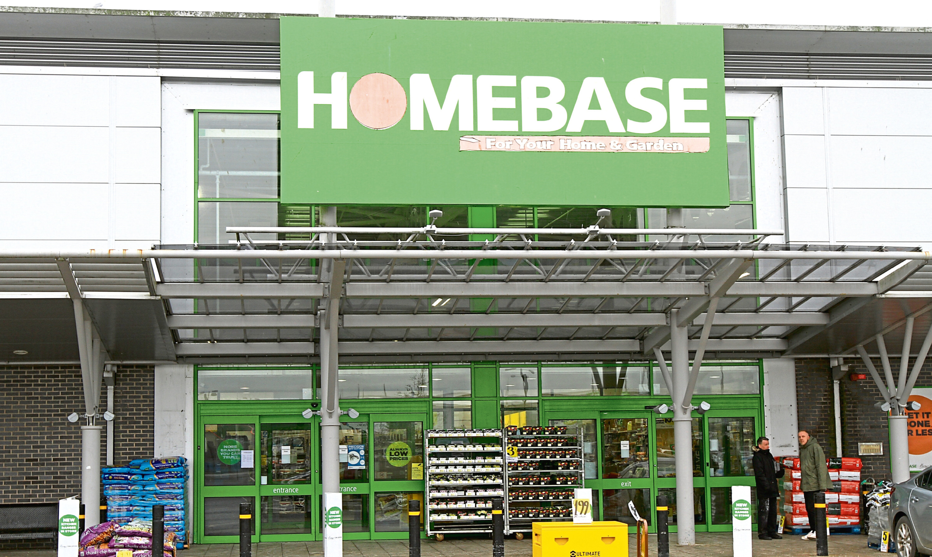 The Homebase branch at the Kingsway Retail Park in Dundee.