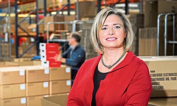 Amanda Robertson, director of Stoneridge Electronics.