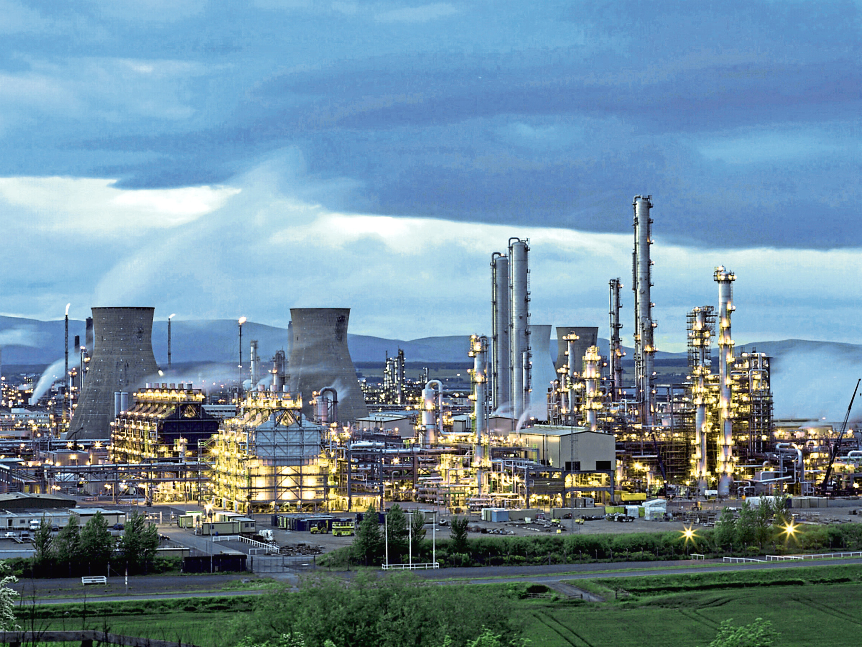 The Grangemouth site operated by Ineos.