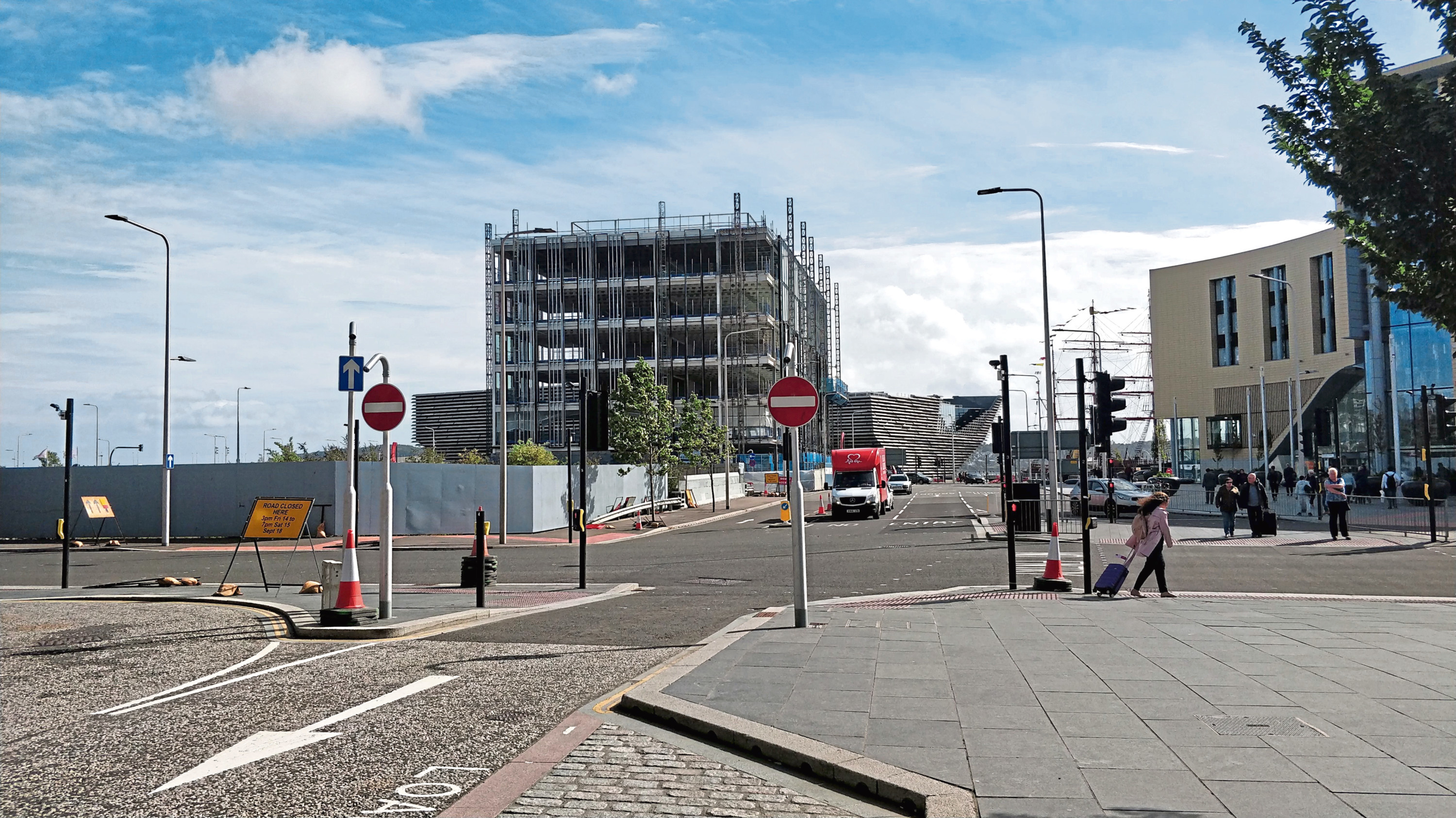 Site Six next to the new Dundee V&A