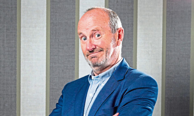 Funnyman Fred MacAulay is MC and compere for The Courier Business Awards again this year