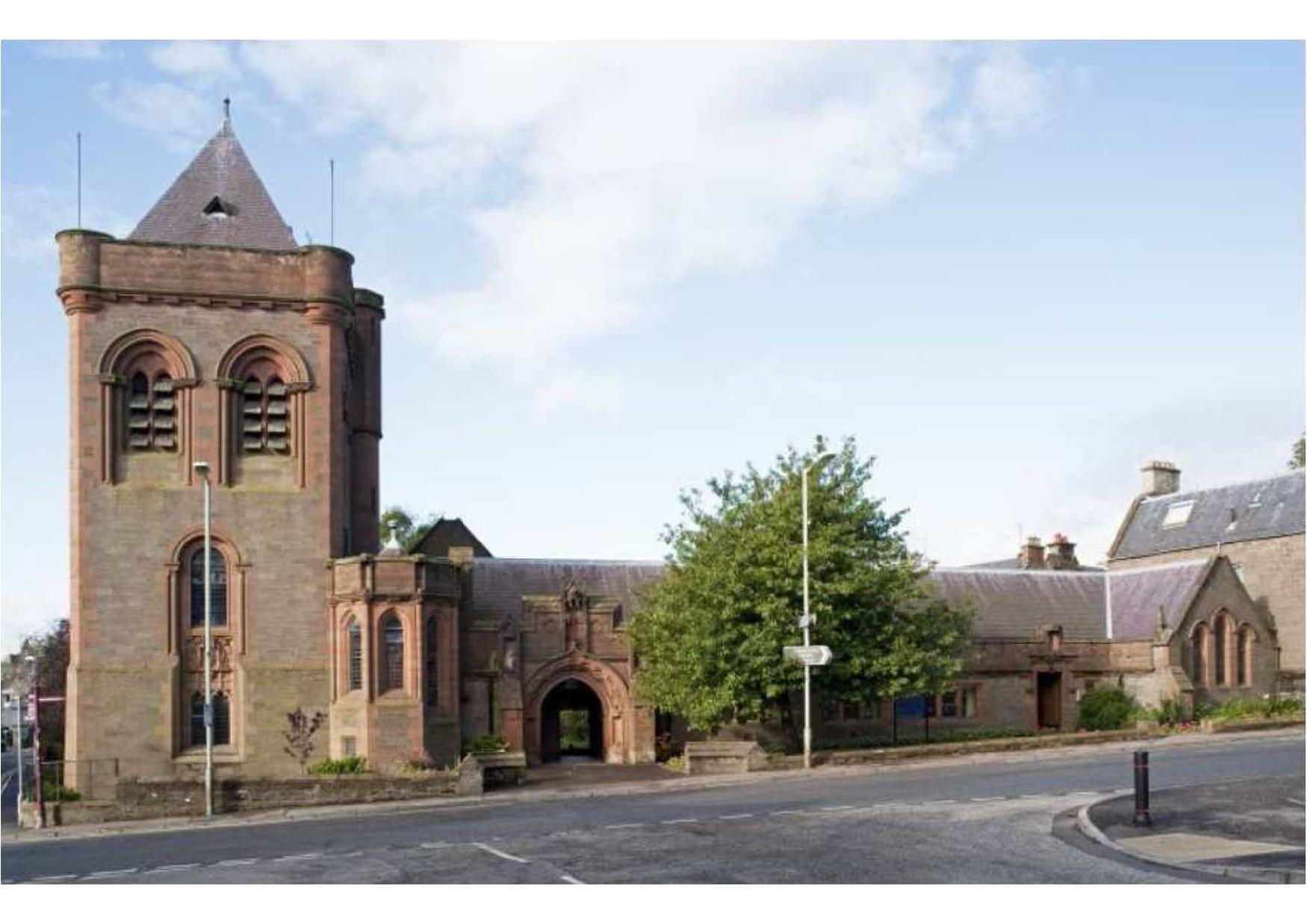The Gardner Memorial Church in Brechin.