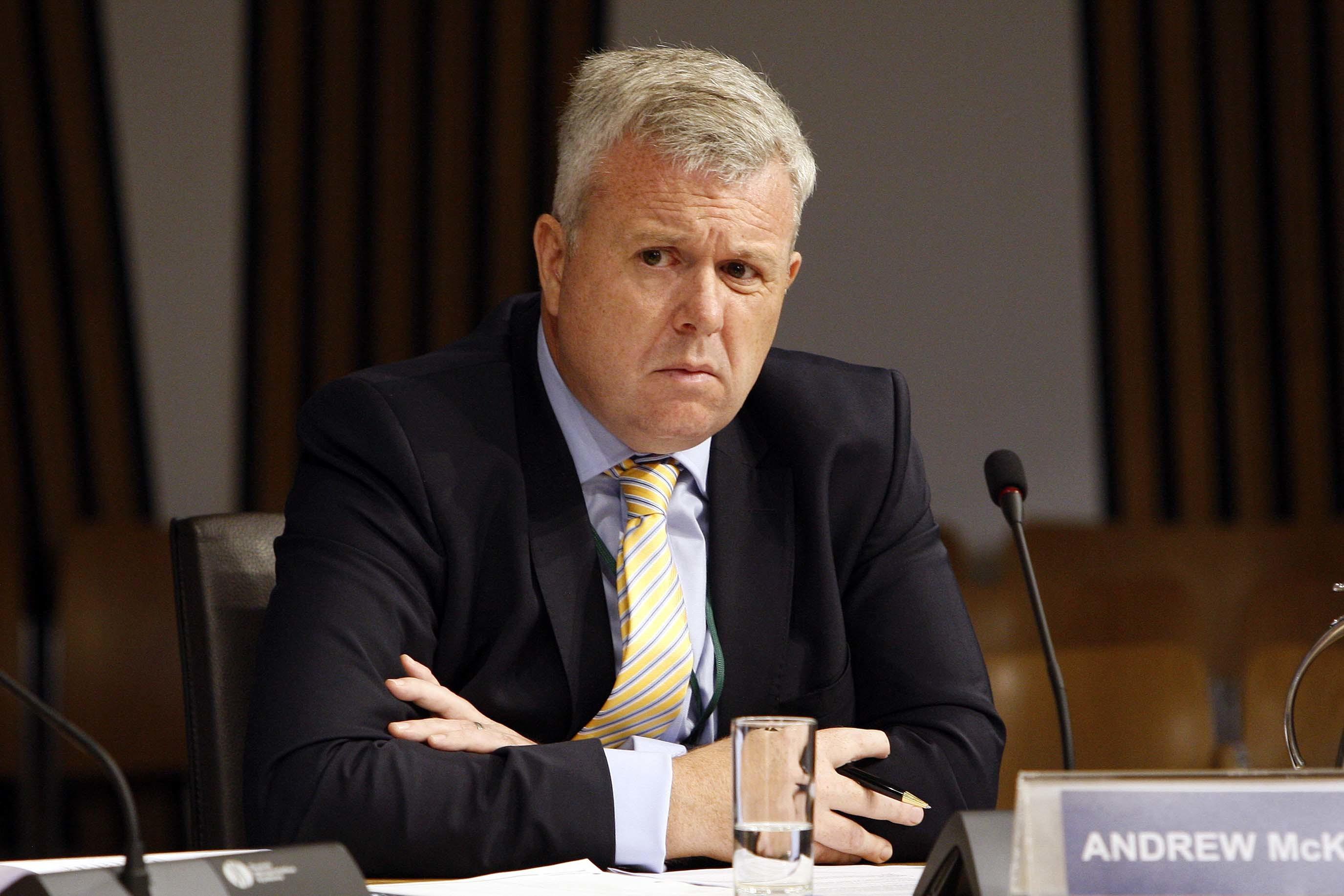 Former Scottish Golf CEO Andrew McKinlay.