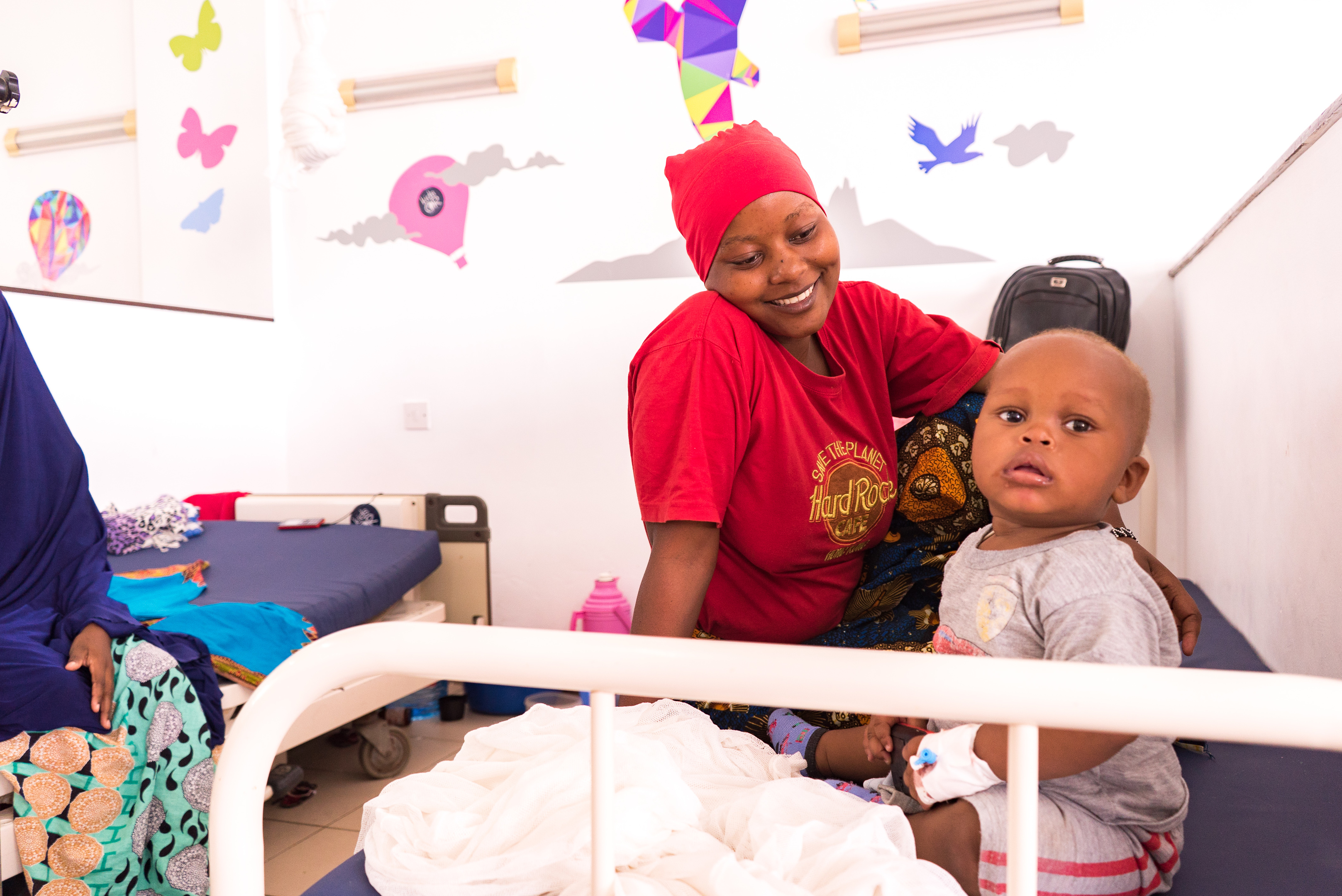 The charity helps to build safe operating theatres around the world, such as in Malawi, Rwanda, and Tanzania.