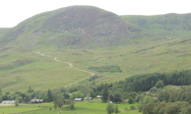 Glen Clova's new hilltrack