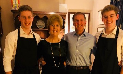 John, Cameron and Jamie will run in memory of mother Ruth.