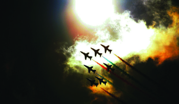 The Red Arrows could feature at the Kirkcaldy waterfront event