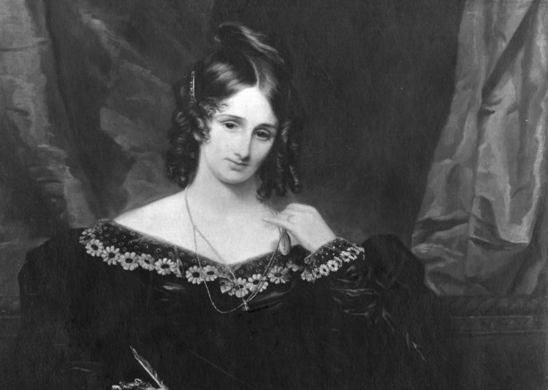 Mary Shelley.