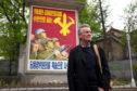 Michael Palin in North Korea.