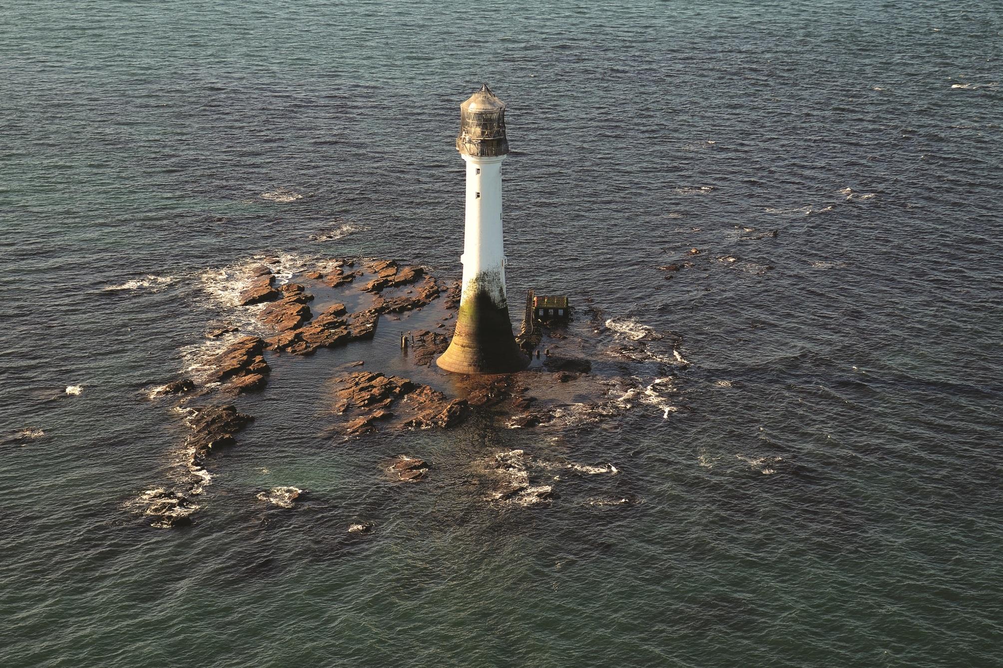 Bell Rock Lighthouse.