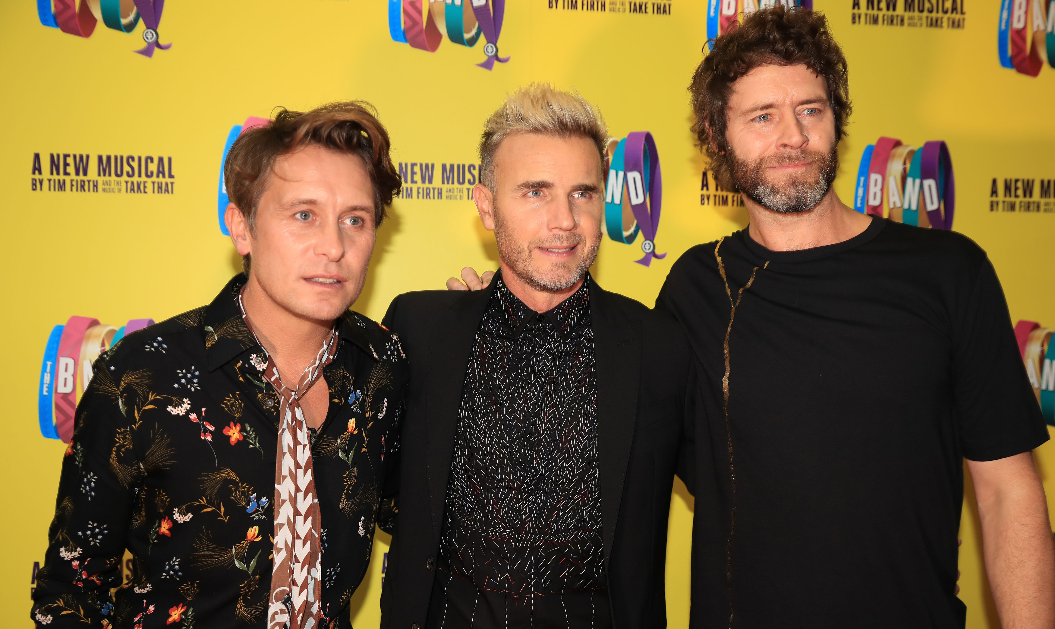 Take That begin touring in April