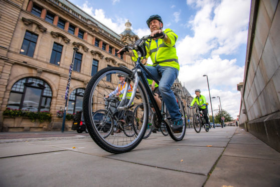 Councillors took to the saddle for a first-person look at cycling in Perth.