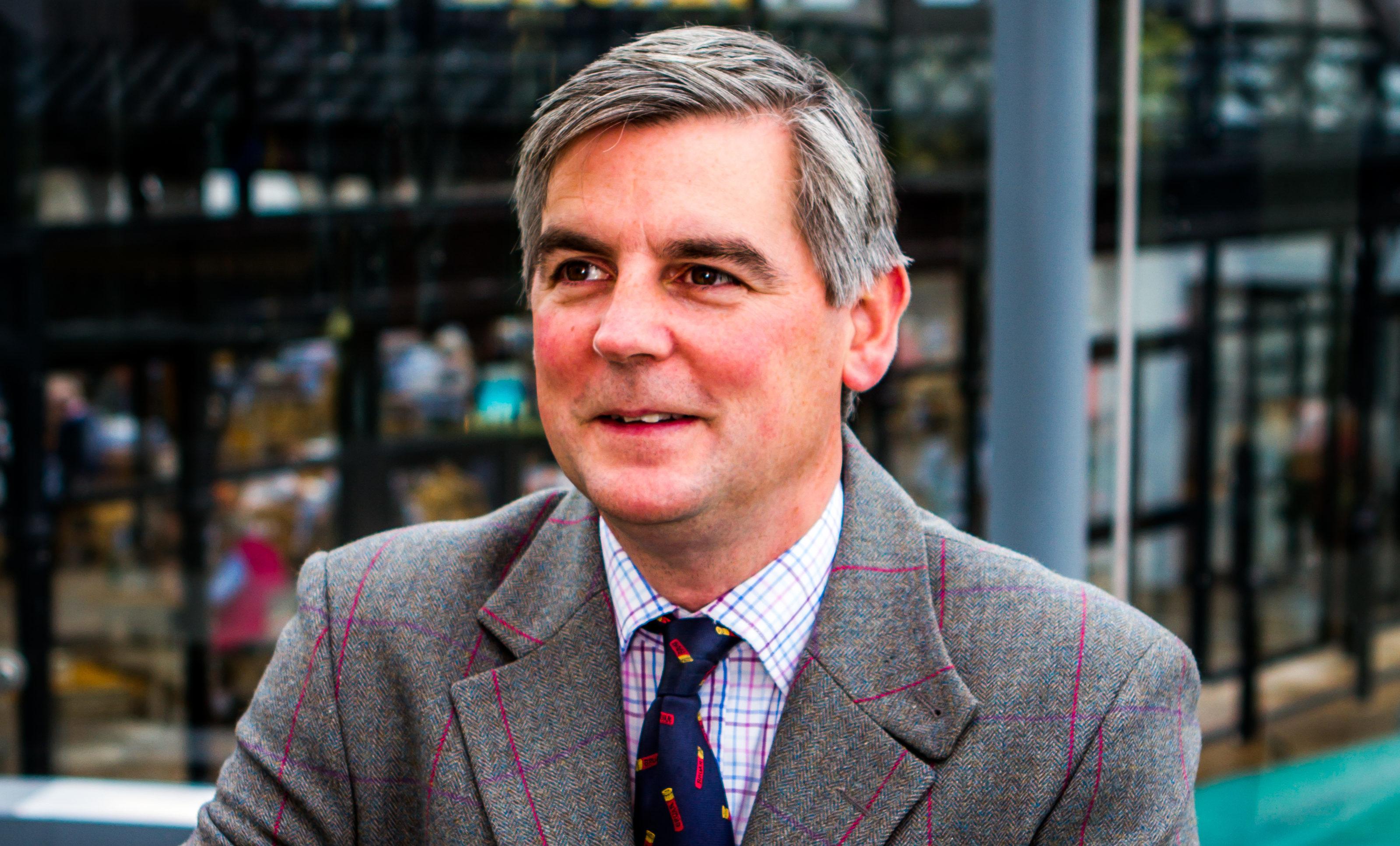 House of Bruar managing director Patrick Birkbeck.
