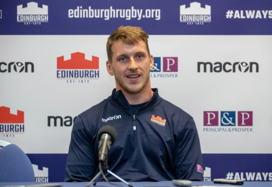 Edinburgh and Scotland centre Mark Bennett.