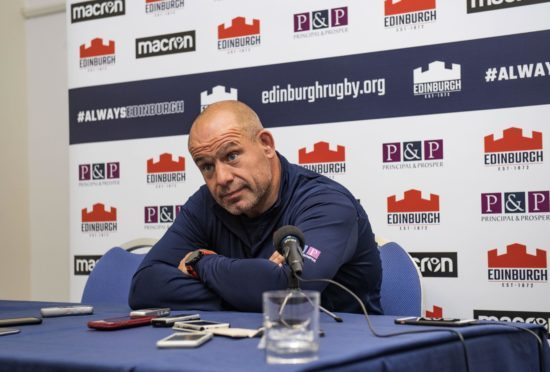 "Edinburgh head coach Richard Cockerill is building up the 1872 derby against ""pin-up"" Glasgow."