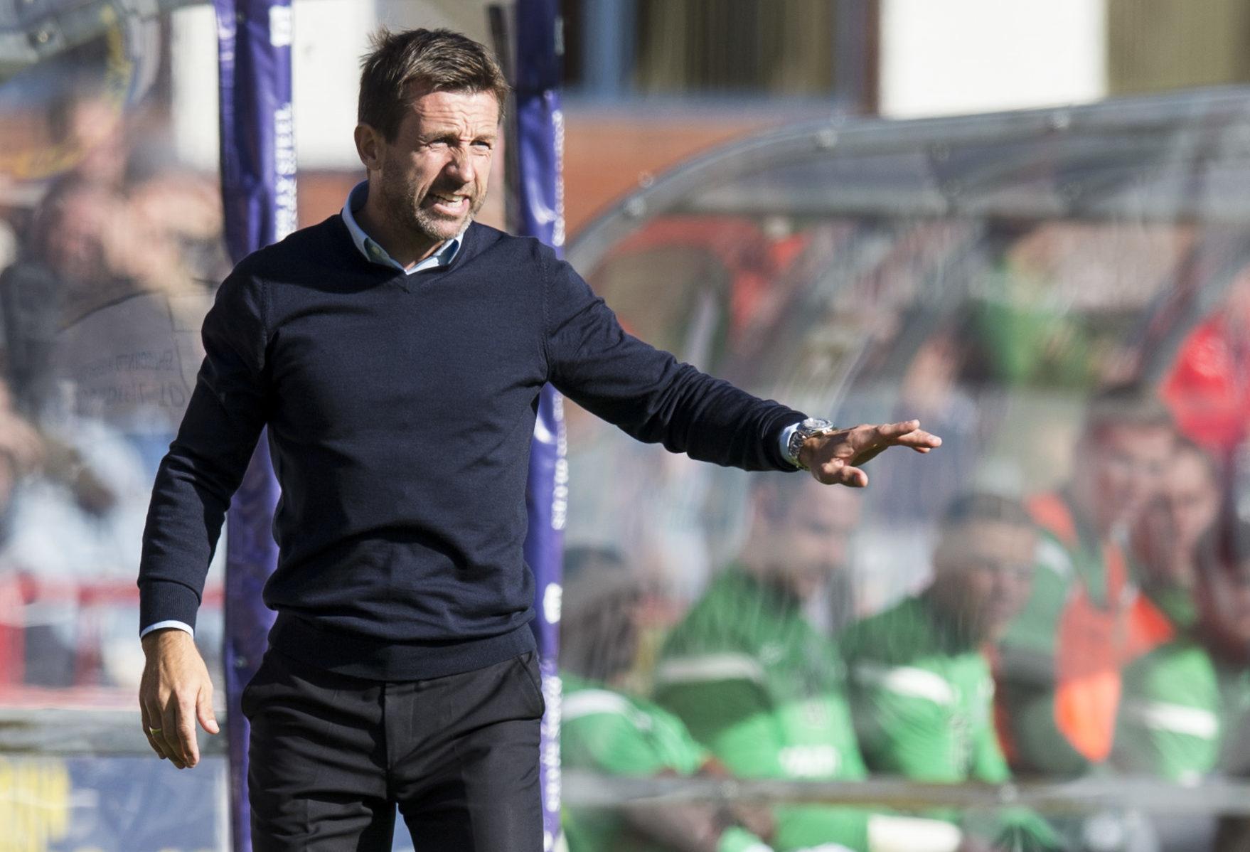 Dundee boss Neil McCann.
