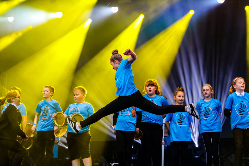 Dancers took centre stage on the Friday of the 3D Festival.