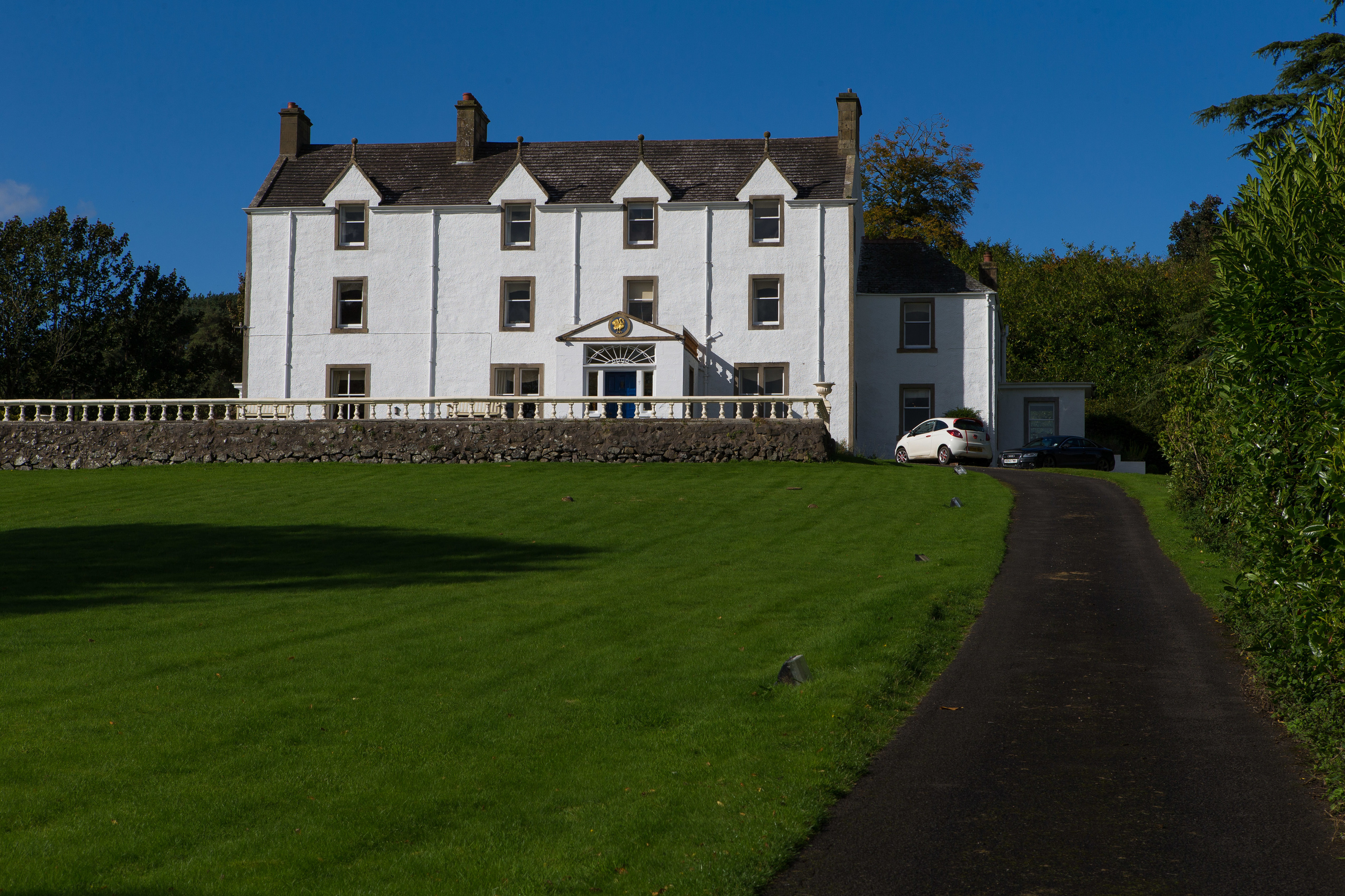 Weddings at Carphin House have caused upset in the nearby rural community of Luthrie