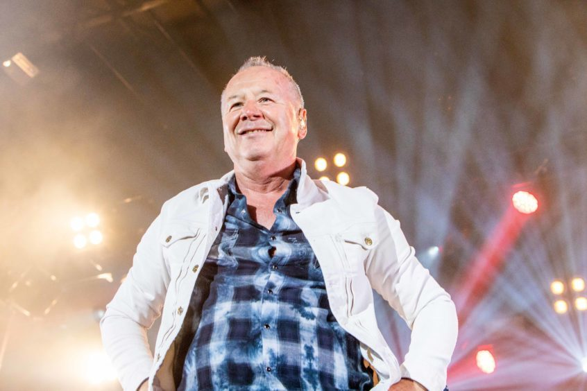 The magical Jim Kerr of Simple Minds.