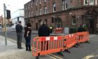 Roadblock in place on Mill Street, Perth, have now been removed