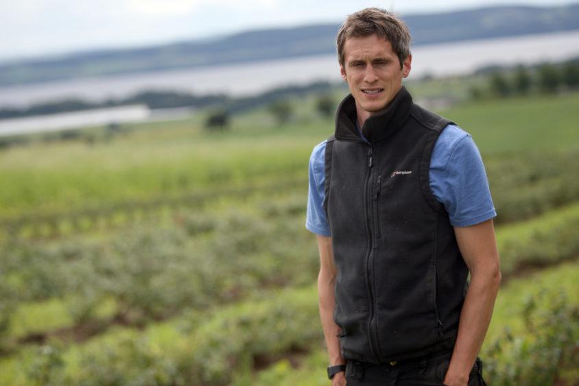 Stewart Arbuckle of Star Inn Farm, Invergowrie