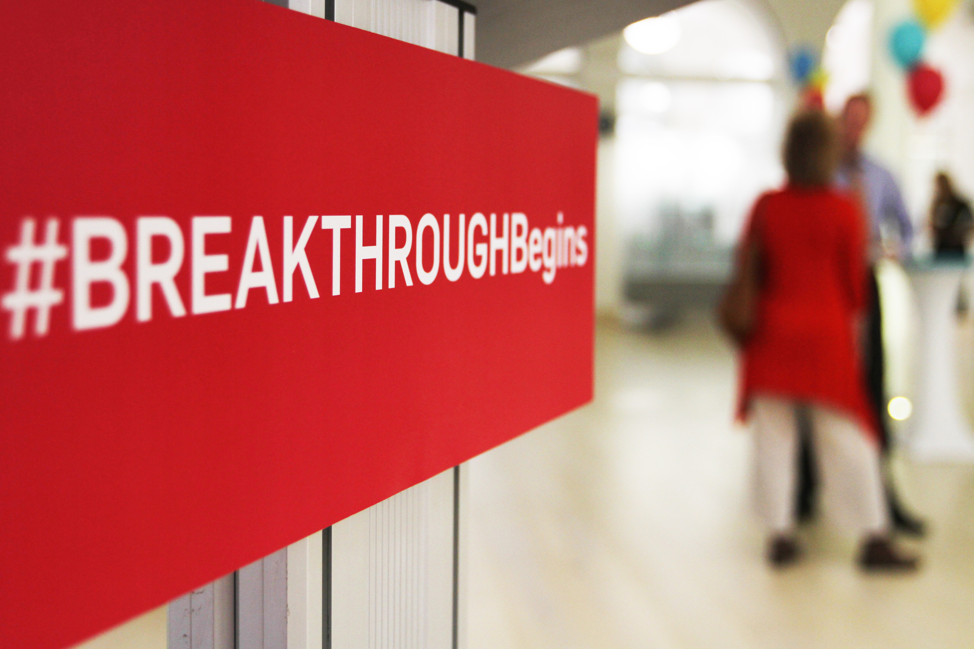 Breakthrough is celebrating its first anniversary.