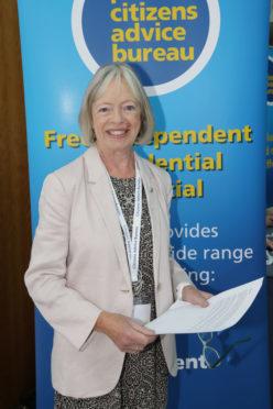 Perth Citizens Advice Bureau vice chairwoman Ann MacIntosh.