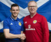 Andy Robertson and Alex McLeish.