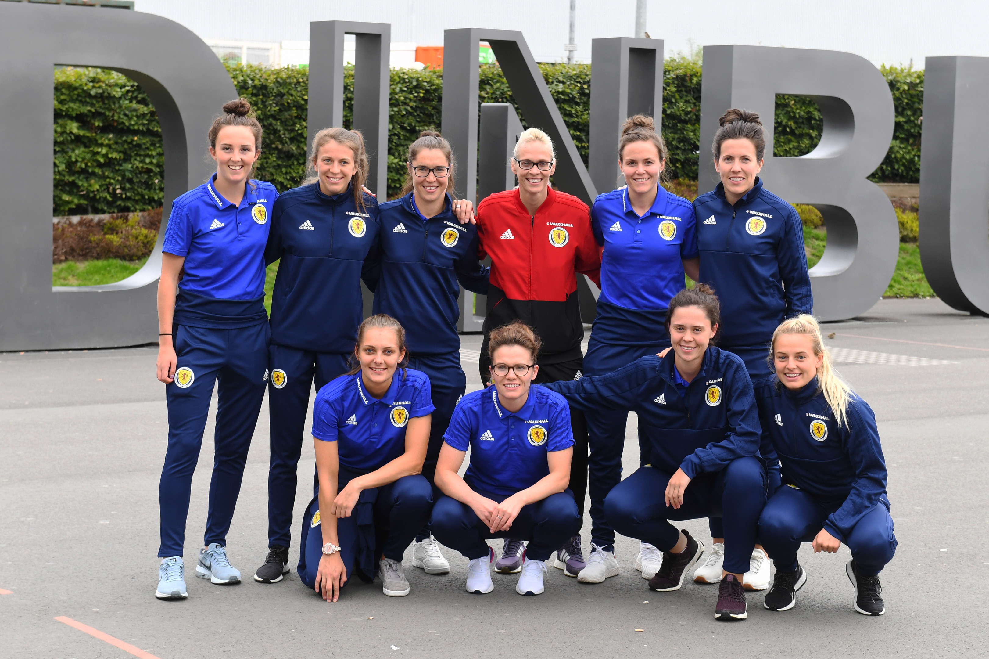 Some of Scotland's World Cup heroes.