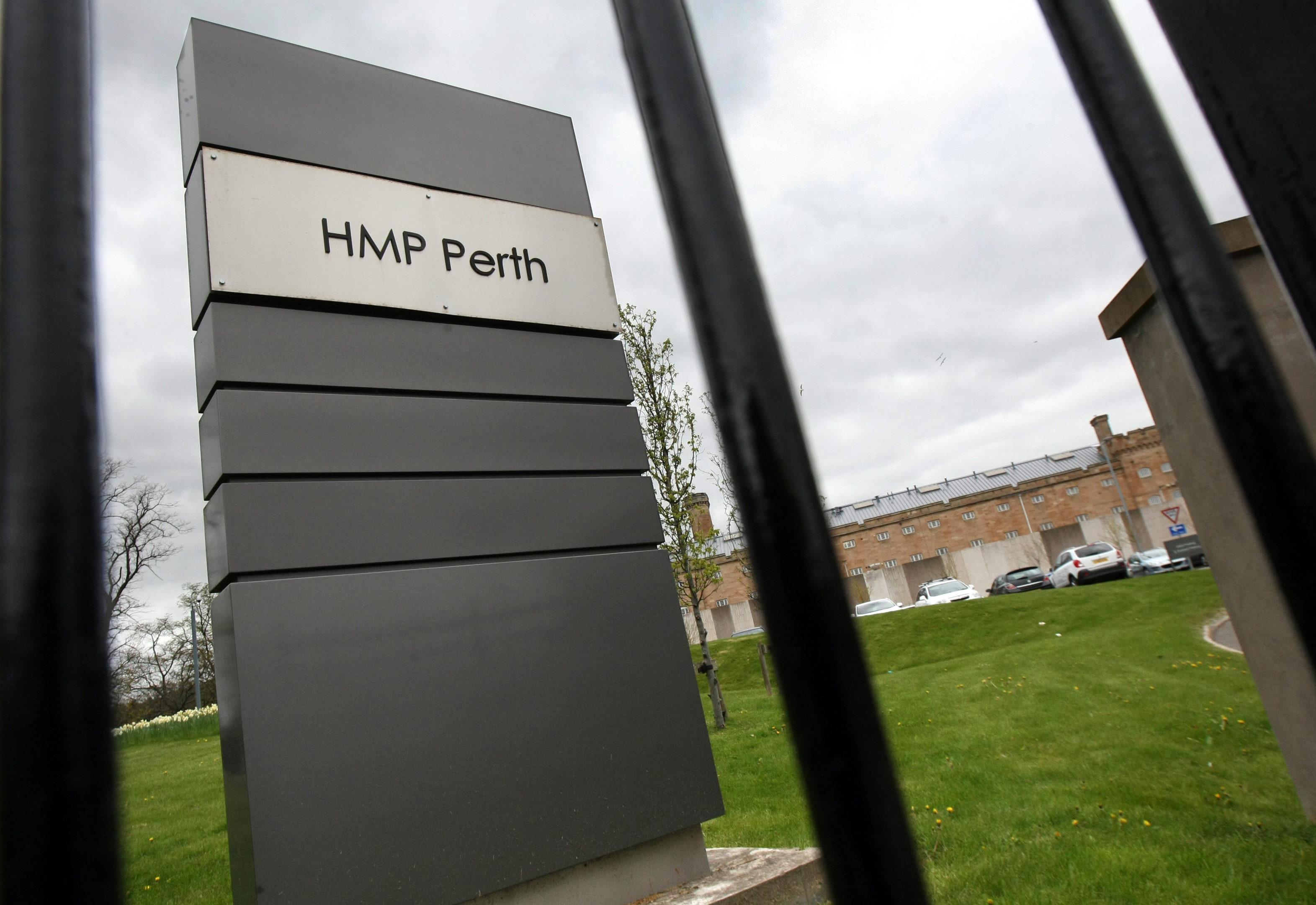 HMP Perth.
