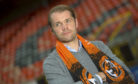 New Dundee United manager Robbie Neilson at Tannadice.