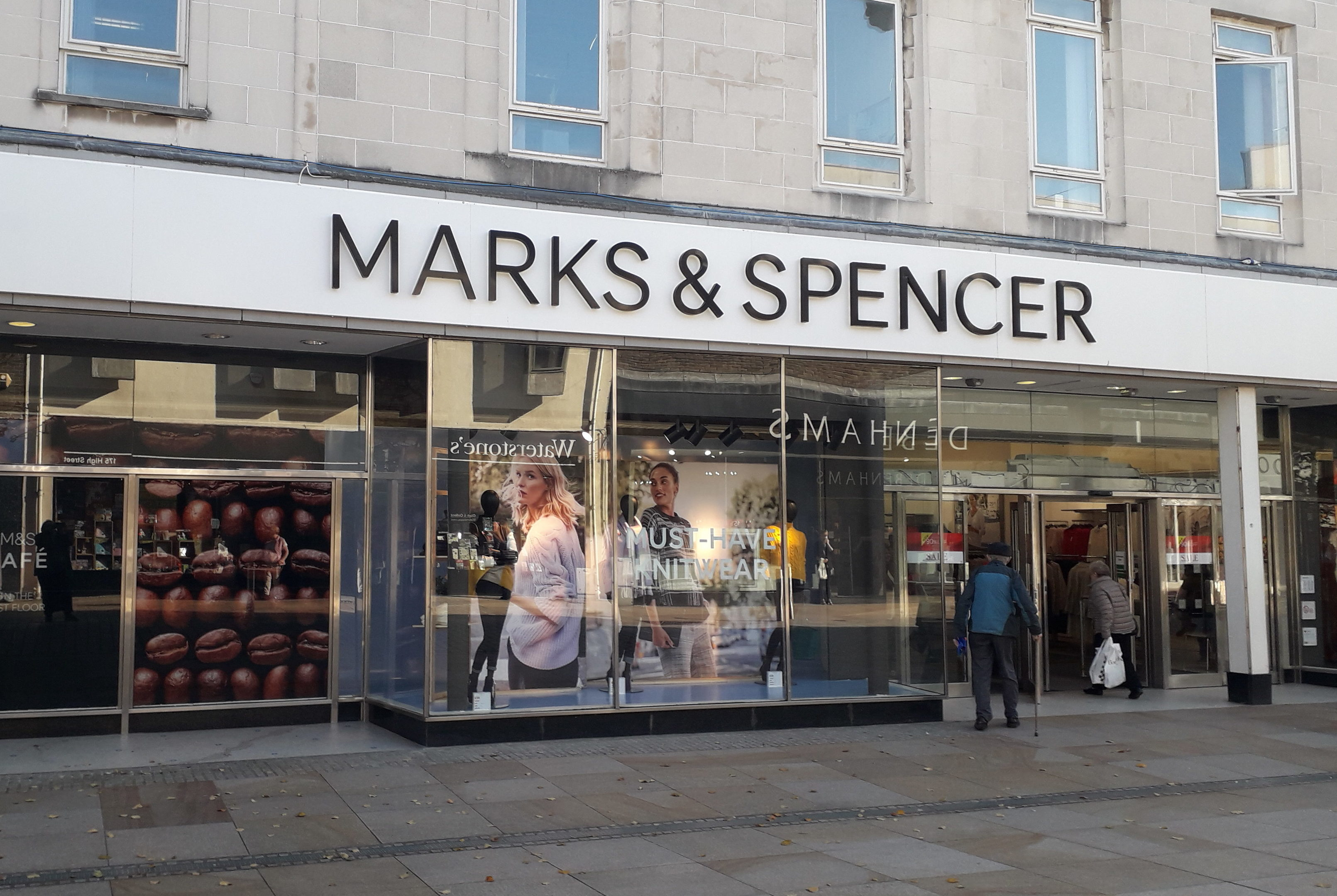 The closure of Marks and Spencer in Kirkcaldy has heightened fears about the town centre's vibrancy