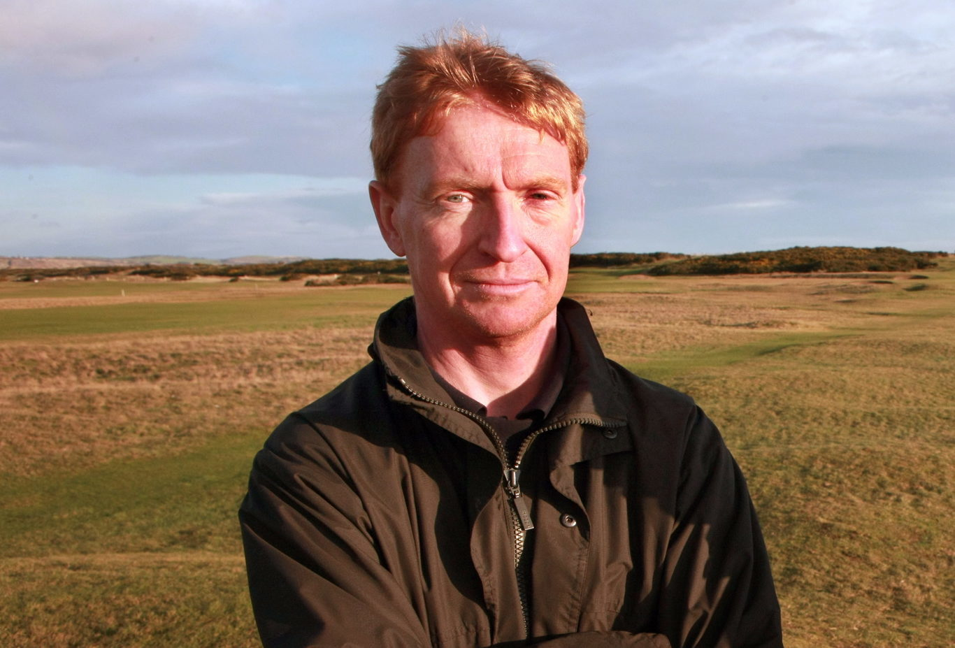 Former course manager Niall Bruce.