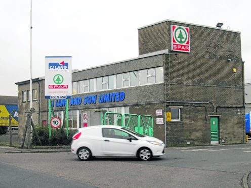 CJ Lang & Son's headquarters in Longtown Road, Dundee.