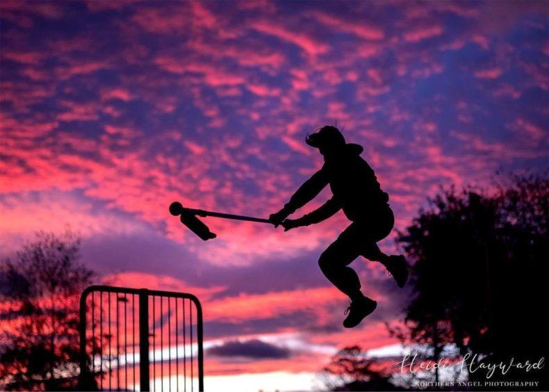Heidi Hayward's photo from the skatepark in Leuchars.