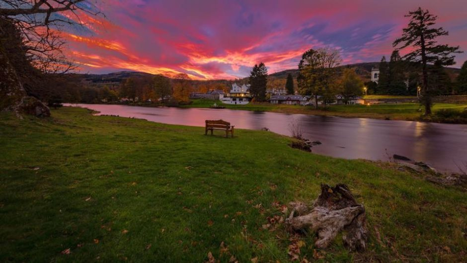 The River Tay, Kenmore.