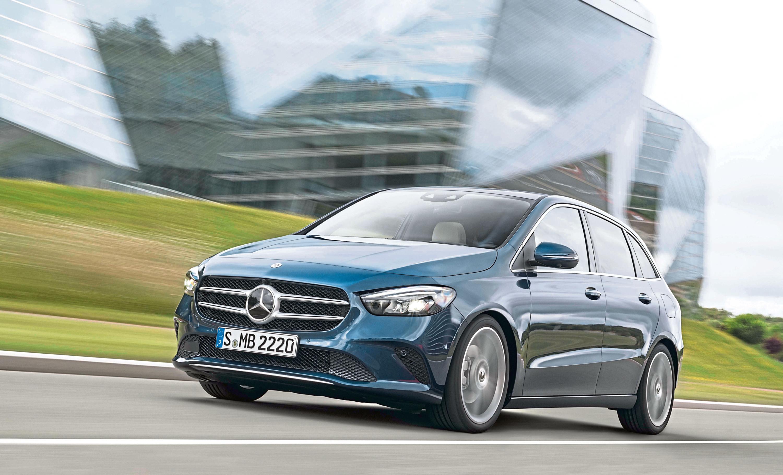 Mercedes-Benz B-Klasse, denimblau // Mercedes-Benz B-Class, denim blue