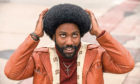 John David Washington as Detective Ron Stallworth in BlacKkKlansman.