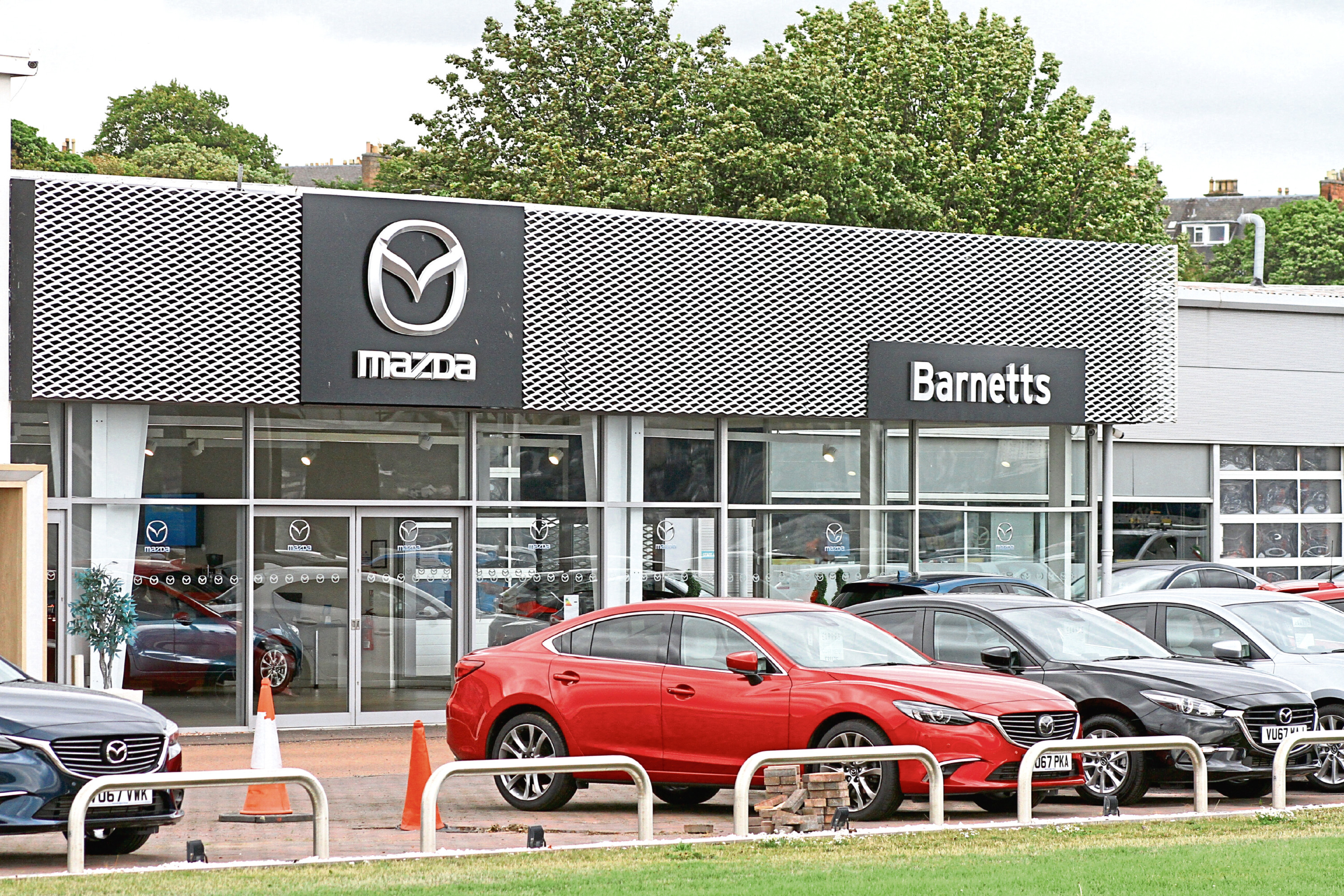 The Barnetts dealership in Riverside, Dundee which was taken over by Eastern Western.