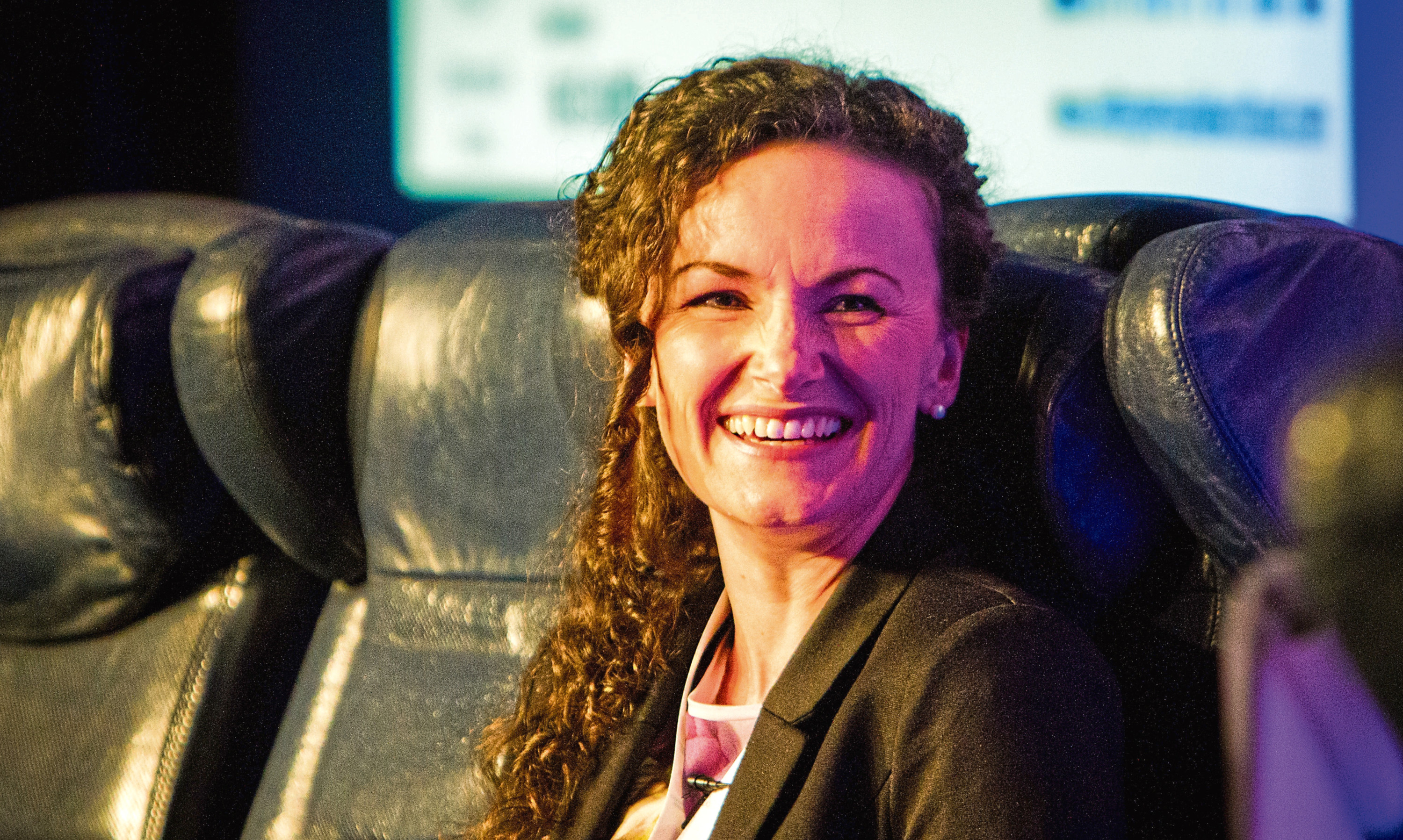 Lesley Eccles wants to affair proof relationships with her new tech venture. Picture: Steve MacDougall.