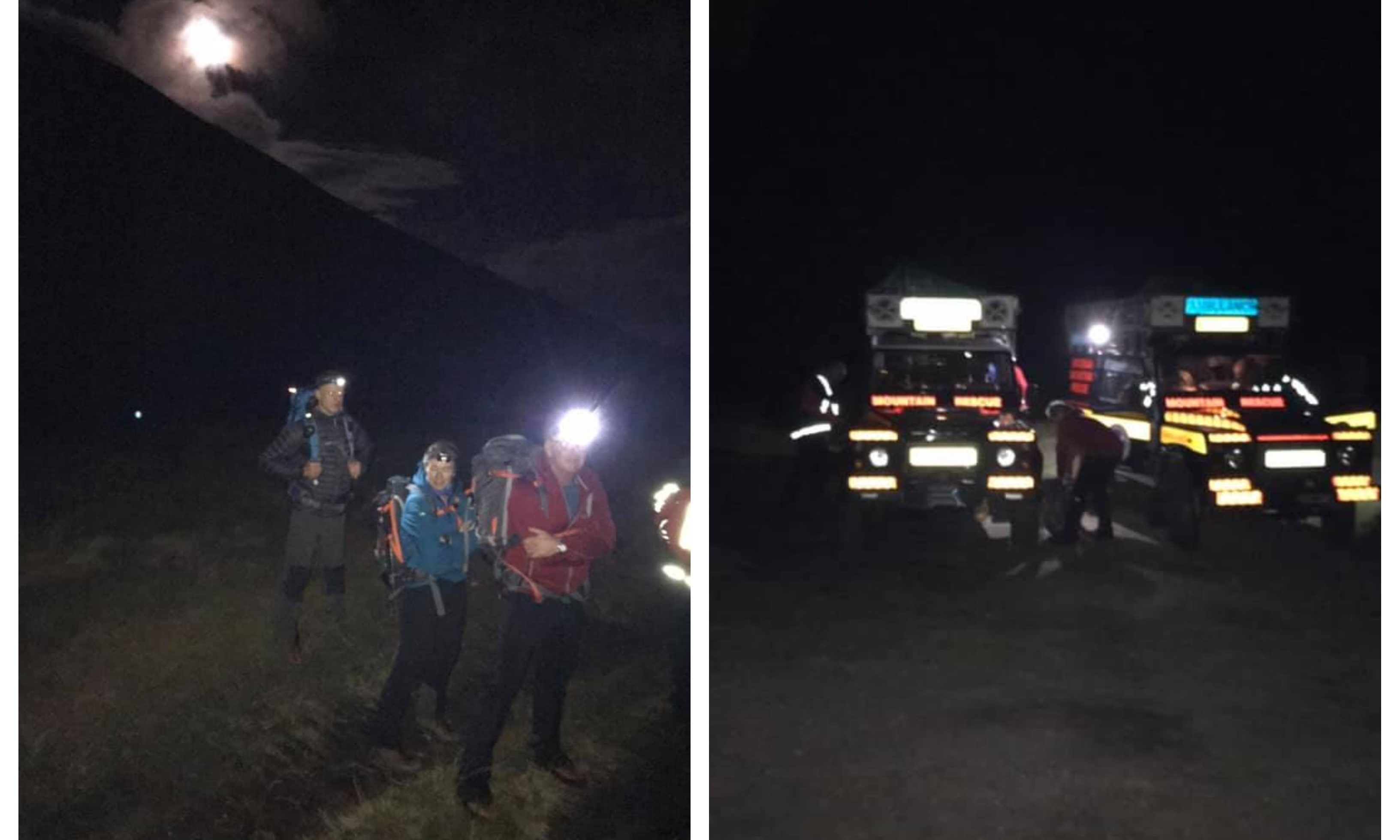 The Braemar Mountain Rescue team were called out to Ben Macdui.