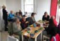 Blairgowrie, Rattray and District Timebank Knit and Natter group at Wellmeadow House.