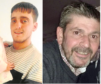Dale Thomson, left, and David Ramsay both died after visiting Carseview