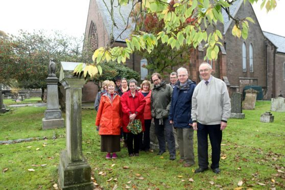 The Friends of William Lamb staged their latest walk in the town this week