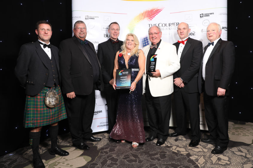 Angus Family Business of the Year winner, James F Stephen Architects.
