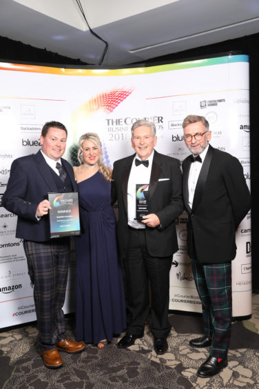 Perthshire Family Business of the Year winner, Perthshire Caravans.